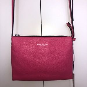 FINAL SALE! NWT Marc Jacobs Leather Pink Crossbody